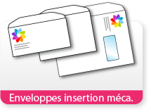Enveloppes insertion méca.